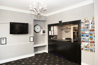 Lounge at Blair Victoria Hotel